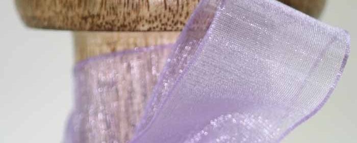 Patterned Sheer Ribbons