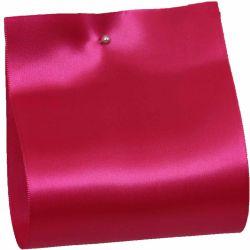 100mm x 50m Single Satin Wide Ribbon  col: Cerise