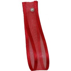 Sheer Elegance Ribbon Col: Red15mm x 25m Article 9902
