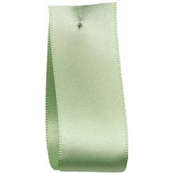 Shindo Double Satin Ribbon Colour Mint (Col 013) - 3mm - 50mm widths