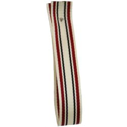 Deck Chair Stripe Ribbon By Berisfords  10mm Col: Red