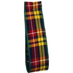 Buchanan Tartan Ribbon By Berisfords Ribbons - available in varying widths from 7mm to 70mm