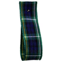 Campbell Tartan Ribbon By Berisfords Ribbons - available in varying widths from 7mm to 70mm