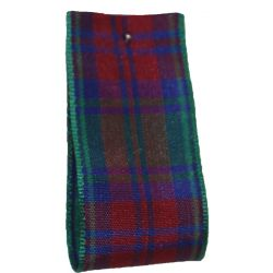 Lindsay Tartan Ribbon By Berisfords Ribbons - available in varying widths from 7mm to 40mm