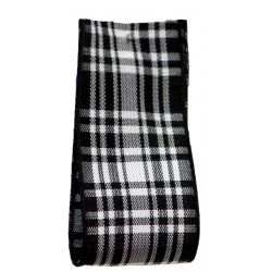 Menzies Tartan Ribbon By Berisfords Ribbons - available in varying widths from 7mm to 70mm