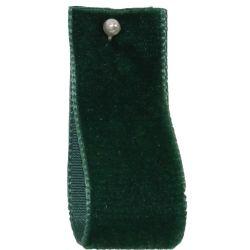 Velvet Ribbon By Berisfords Col: Bottle 9621 - available in 9mm - 50mm widths