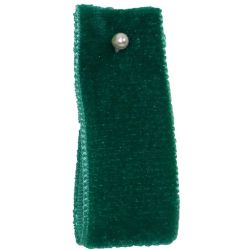 Velvet Ribbon By Berisfords Col: Emerald 9456 - available in 9mm - 50mm widths