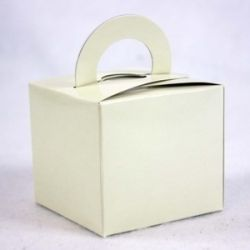 Ivory Gift/ Favour Boxes x 10pcs