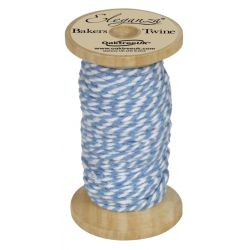 Bakers Twine Wooden Spool 2mm x 15m Lt. Blue No. 25