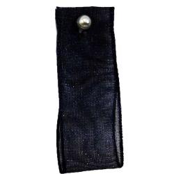 Black Sheer Ribbons | Organza Ribbons 10mm x 25m By Berisfords Ribbons