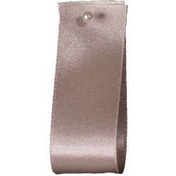 Double Satin Ribbon By Berisfords Ribbons: Silver Grey (Col 18) - 3mm - 70mm widths