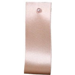 Double Satin Ribbon By Berisfords Ribbons: Cream (Col 50)- 3mm - 70mm widths