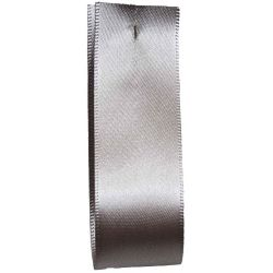 Shindo Double Satin Ribbon Silver (Col:181) - 3mm - 50mm widths