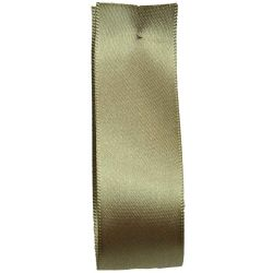 Shindo Double Satin Ribbon Dark Khaki  (Col:183) - 3mm - 38mm widths
