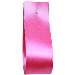 Shindo Double Satin Ribbon Cerise  (Col:186) - 3mm - 38mm widths