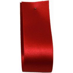 Shindo Double Satin Ribbon Red (Col: 042) - 3mm - 50mm widths