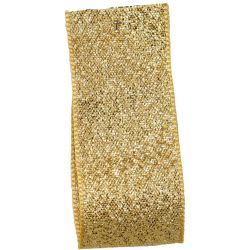 Dark Gold Lame Ribbon Article 9165 - All Widths (incl. BULK REELS)