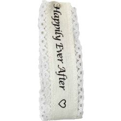 Happily Ever After Wedding Ribbon
