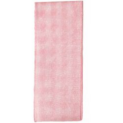 Sheer Gingham Ribbon Col: Pink