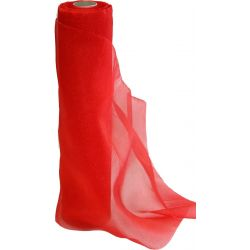 29cm x 25m Christmas Red Sheer