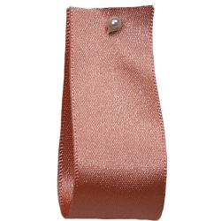 Double Satin Ribbon By Berisfords: Rose Gold (Col 9792) - 3mm - 70mm widths