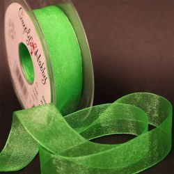 Meadow Sheer Ribbons | Organza Ribbons by Berisfords Ribbons - 10mm - 40mm widths available