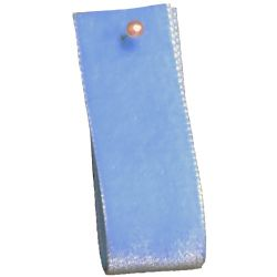 Velvet Ribbon By Berisfords Col: Faience Blue 9522 - available in 9mm - 50mm widths