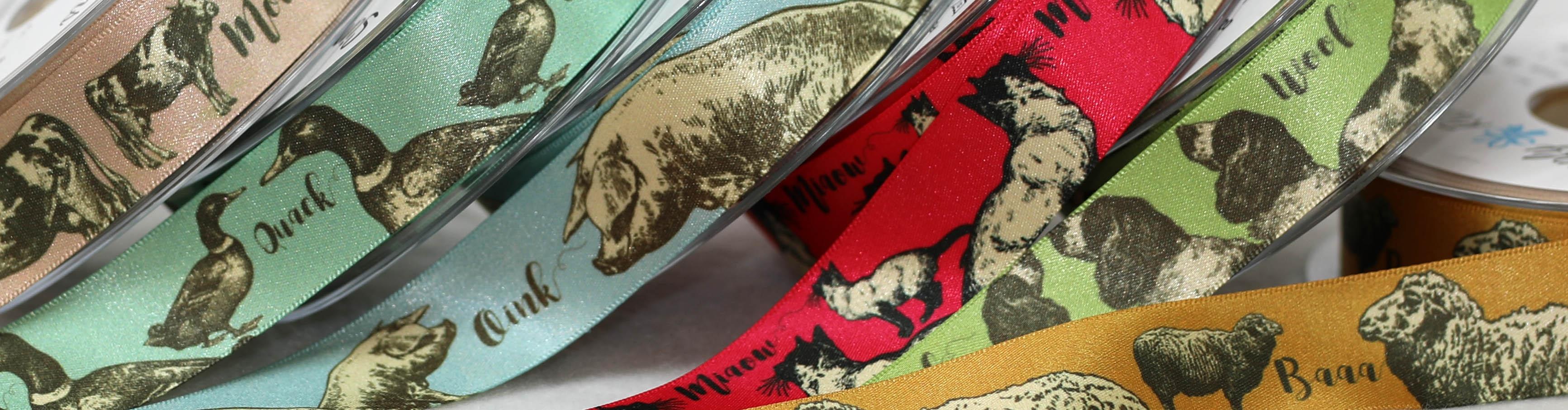 animal themed ribbons